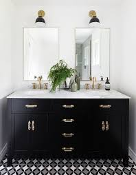 black and white vanity. Contemporary And View In Gallery Black  In And White Vanity O