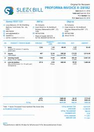 Pro Forma Example Pro Forma Invoice Examples Best Of Proforma Invoice 13 Free