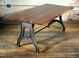 cast iron table base. Cast Iron Table Base Graceful Desk Legs Wrought Wishbone Trestle .