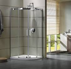china semi frameless curved glass shower door enclosures for bathroom 100 x 100 x 195