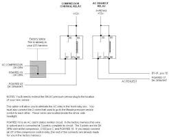 diy fd ac lines this is the diagram to use when the stock fan 1 relay is in place