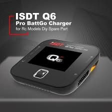 abs isdt q6 pro battgo 300w 14a handheld lipo battery balance charger intelligent digital charger for rc models diy