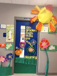 Spring Classroom Door Decorations