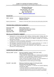 Pharmacy Resume Example Pharmacist Cv Example Savebtsaco 2