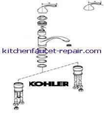 kohler kitchen faucet parts. Kitchen : Beautiful Kohler Faucets Parts New 17 On Home Faucet F