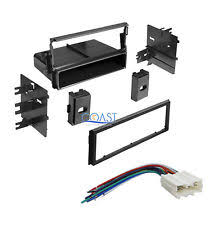 mitsubishi wiring harness car radio stereo single din dash kit wiring harness for 1995 2006 mitsubishi fits