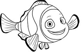 Small Picture Clown Fish Coloring Page Coloring Book