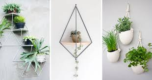 Here are 10 examples of modern and stylish wall mounted planters that will  help you get