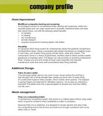 8+ Company Profile Sample – Free , Examples & Format | Sample Templates