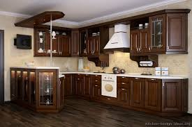 kitchens with wood cabinets and white appliances. Delighful Appliances Kitchen Of The Day A Traditional Europeanstyle Kitchen With Dark Wood  Ca On Kitchens With Wood Cabinets And White Appliances I