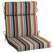 21 5 x 20 sunbrella carousel confetti high back outdoor dining chair cushion