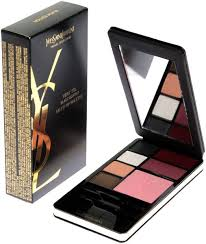 yves saint lau very ysl travel selection make up palette black edition