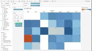 Calendar Chart In Tableau Tableau Tutorial 7 How To Create A Calendar