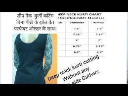 Deep Back Neck Drafting Theory For Kurti Blouse In Hindi