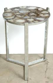 agate coffee table within geode view 3 of accent glass