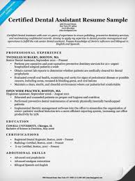 Resume For Dentist Job Best Of Dental Assistant Resumes Resume Examples Writing Tips Companion 24