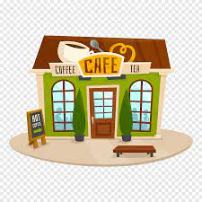 Macchiato tea coffee cappuccino latte png image high quality png for free download. Coffee Cafe Bistro Cartoon Coffee Shop Food Building Png Pngegg