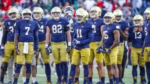 Notre Dame Depth Chart Boston College Irish Sports Daily
