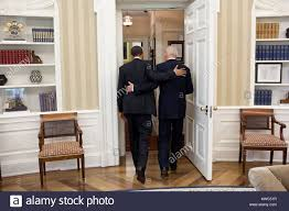 obamas oval office. President Obama And VP Joe Biden Going To The Oval Office Private Dining Room For Lunch. May 4, 2011 (BSLOC 2015 13 235) Obamas I