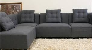 image of individual sectional sofa pieces