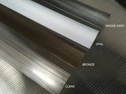 section twin wall polycarbonate panels