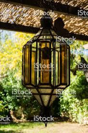 Outdoor terrace lighting Outdoor Dining Vintage Outdoor Porch Pendant Lamp Garden Fixture Lights Vintage Terrace Lighting Lantern Stock Image Istock Vintage Outdoor Porch Pendant Lamp Garden Fixture Lights Vintage