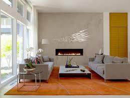 Living Room Fire Ribbon Direct Vent Slim Spark Modern Fires In Spark Fireplace