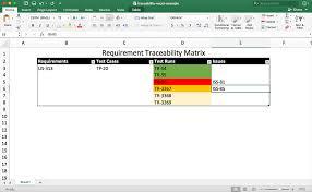 requirements traceability matrix templates how to create a traceability matrix template and samples perforce