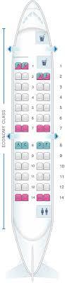 Crj 200 Seating Chart Delta Seat Map Iberia Regional Air Nostrum Crj 200 Seatmaestro