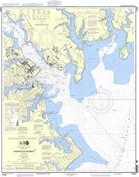 Amazon Com Noaa Chart 12283 Annapolis Harbor Sports