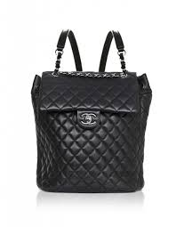 Chanel Black Quilted Lambskin Large Urban Spirit Backpack with Box & Chanel Black Quilted Lambskin Large Urban Spirit Backpack Adamdwight.com