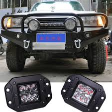 Led Auxiliary Backup Lights Us 25 1 Embedded Led Drl Daylight Aux Spot Light Fog Lamp Rear Reverse Backup Tail Light For Atv Suv Boat 4x4 Offroad Car Pickup Truck In Car Light