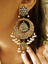 can t beat a clic jhumka for a traditional indian look