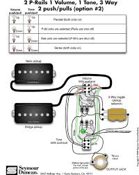 guitar electric diagram wire 2 humbucker 1 voluume 1 tone not seymour duncan p rails wiring diagram 2 p rails 1 vol 1 tone 3 rh