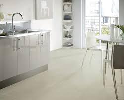 image of modern vinyl flooring kitchen