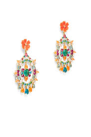 garden party statement earrings by kate spade new york accessories for 20 the runway