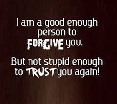 Quotes About Trust Issues and Lies In a Relationshiop and Love ... via Relatably.com