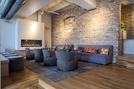 the brick living room furniture. Once Dismissed As Passé And Grungy, Living Spaces Inside Of Refurbished Buildings Has Revitalized Many The Brick Room Furniture S