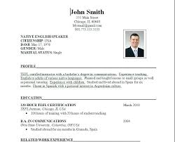 Resume Format For Job Interview Free Download Example Of Resume For Job Interview Work History Job Interview