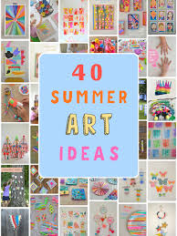 Image Paper Collage 40 Summer Art Ideas For Kids Art Bar Blog 40 Summer Art Ideas For Kids Artbar