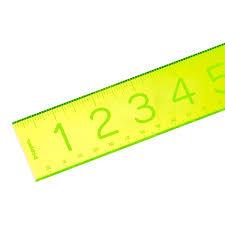Poppin Neon Green Acrylic Ruler ...