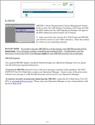 Nyc Sca Organization Chart Request For Payment Rfp Submission Guidelines A E Design