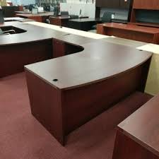 l shaped desk bowfront wt rounded corner worksurface 1 b 1 ff