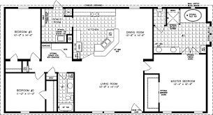 manufactured home floor plan the t n r model tnr 4582w 3 bedrooms
