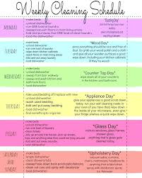 House Cleaning Chart My House Clean Indianculture Co
