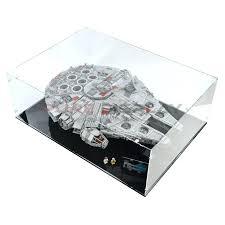 lego display table millennium falcon display 1 d lego display coffee table