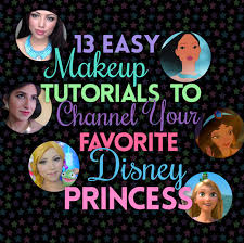 13 easy makeup tutorials to channel your favorite disney princess hannah gregg the banana standard
