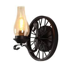 Wandlampe Kreative Industrial Rad Dekoration Wandleuchte