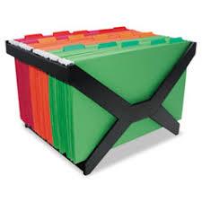 hanging file box. Advantus 63000 Letter/Legal Hanging File Rack Box E