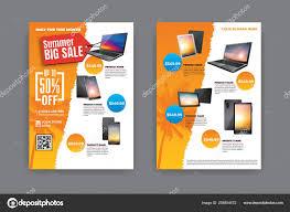 Sample Of Flyer Sides Flyer Template Summer Sale Promotion Sample Product